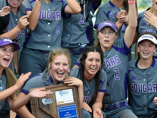 Spanish Springs celebrates the  Northern 4A Championship