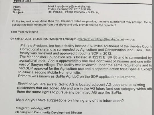 Hendry County public records emails show officials and staff wrangling over how much to tell the media.