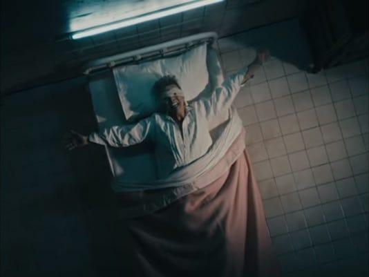 """David Bowie's """"Lazarus"""" music video"""