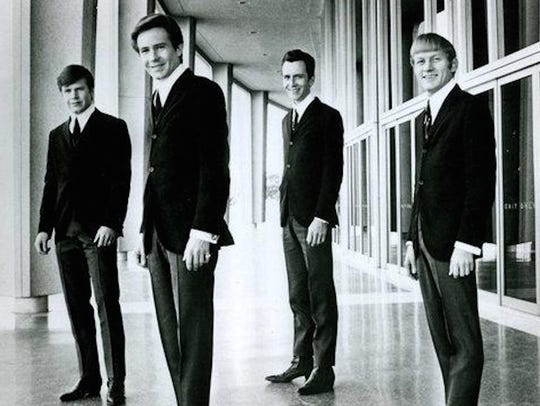A publicity photo of the Bobby Fuller Four. From left: