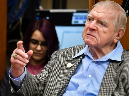 George Perles served on the Michigan State Board of Trustees until November 2018, when his battle with Parkinson's started to take control.