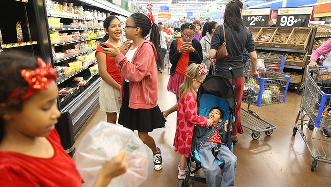 Shopping can be quite the task for Jessika Reed of Chandler, mom of nine kids. Most of her children entered her family through the foster-care system.