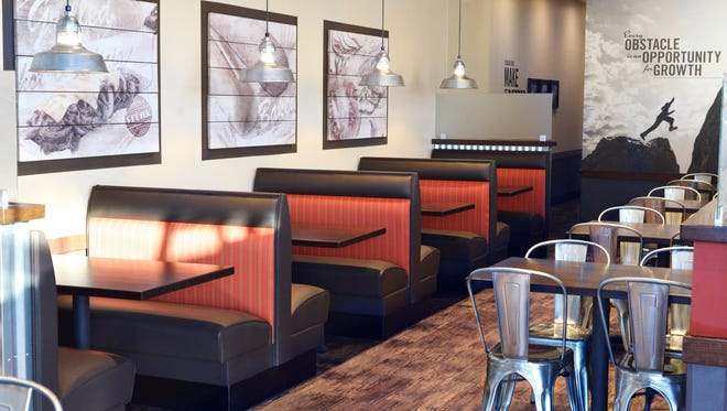 A new Cousins Subs in Glendale showcases the restaurant chain's redesigned look.