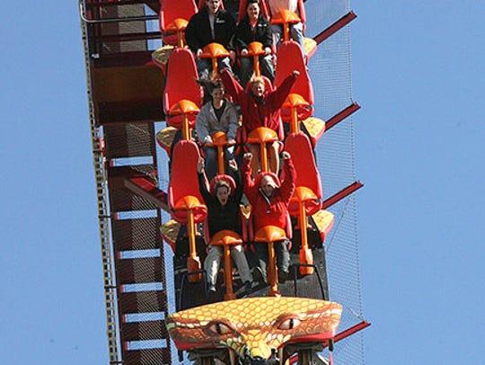 Diamondback roller coaster at Mason's King's Island