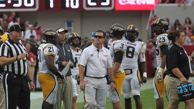 Southern Miss athletic trainer Todd McCall was recently named the 2015 Collegiate/University Athletic Trainer of the Year by the Southeast Athletic Trainers Association (SEATA).