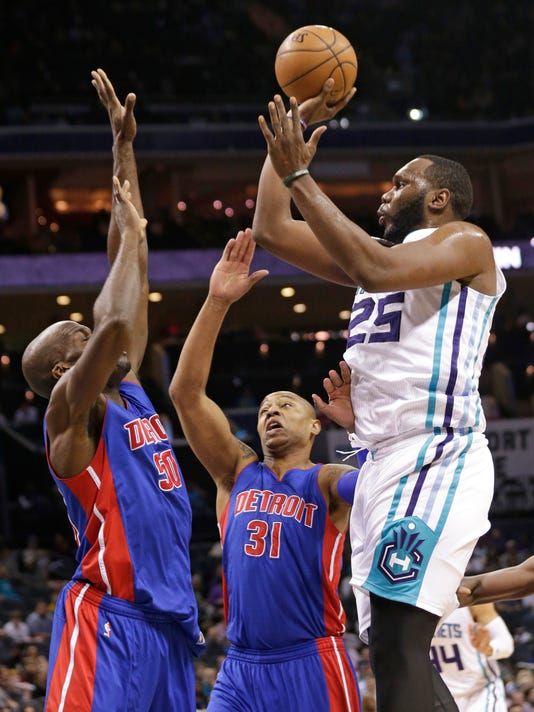Al Jefferson, Caron Butler, Joel Anthony