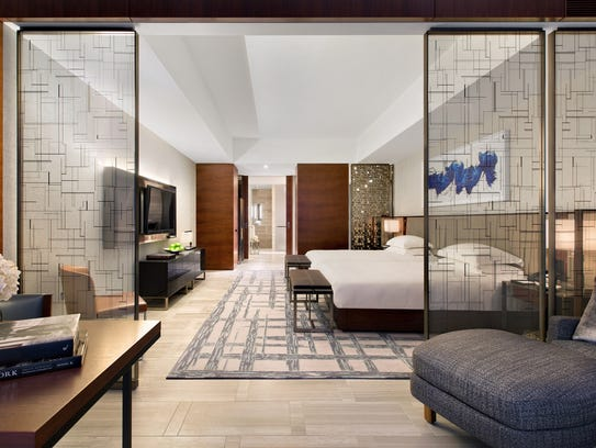 The Park Hyatt New York received its first Five Diamong