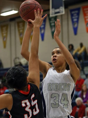 Roosevelt's Meredith Burkhall, a second-team all-state selection, said she plans to play at Iowa State.