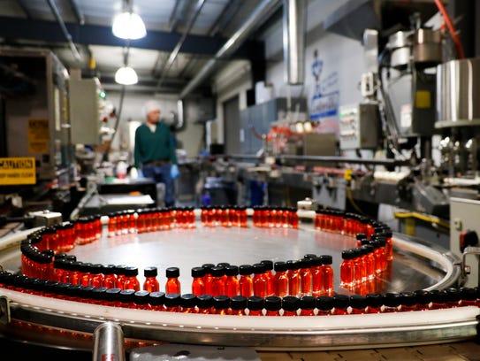 The production area of LorAnn Oils on Aurelius Rd.