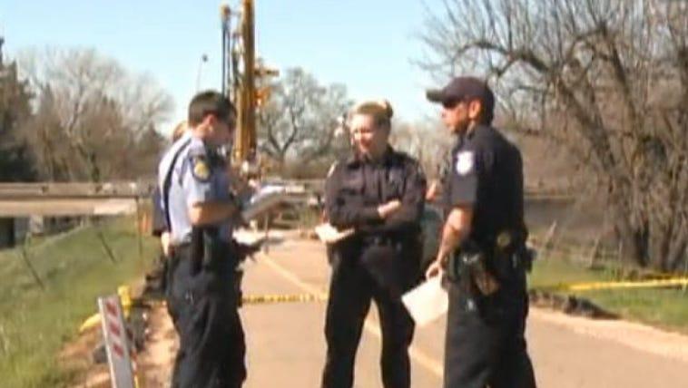 Officers on scene