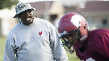 Eddie Brown, the Lions defensive line coach, played defensive end for the 1984 state championship team and began as an assistant coach in 1992. He helped the Lions to state championships in 2006, 2007, 2008 and 2011.