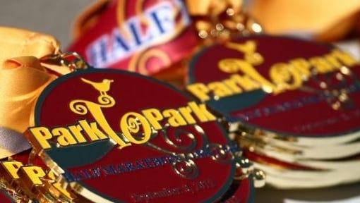 Park to Park medals