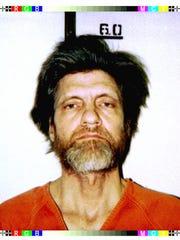 Theodore Kaczynski in 1996.