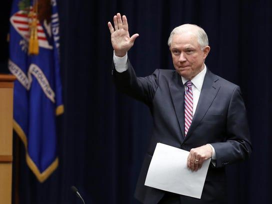 Attorney General Jeff Sessions. AP File Photo/Alex Brandon