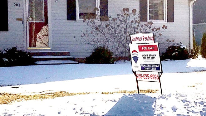 """This home's sale status on Cottage Street in Sturgis is """"pending,"""" reflective of a strong seller's market, despite the COVID-19 pandemic and uncertain times. The four-bedroom, two-bath home is listed at $175,000 and went on the market Jan. 7."""
