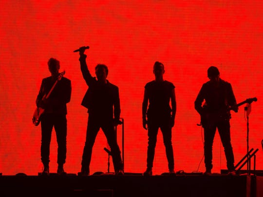 Adam Clayton, Bono, Larry Mullen Jr. and the Edge of