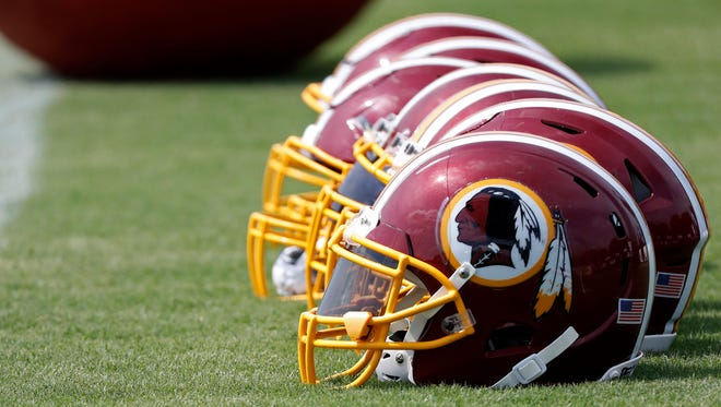A Native American group created fake news web pages and stories Wednesday, proclaiming the Washington Redskins had changed its name to the Redhawks.