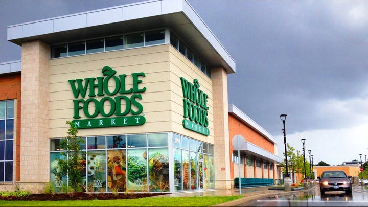 Keep the engine running. Amazon announces new Whole Foods curbside pickup service