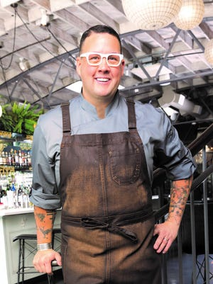 Celebrity chef Graham Elliot will participate in cooking demonstrations and a book signing at Lansing State Journal's Food & Wine Experience event on Sunday, September 17.