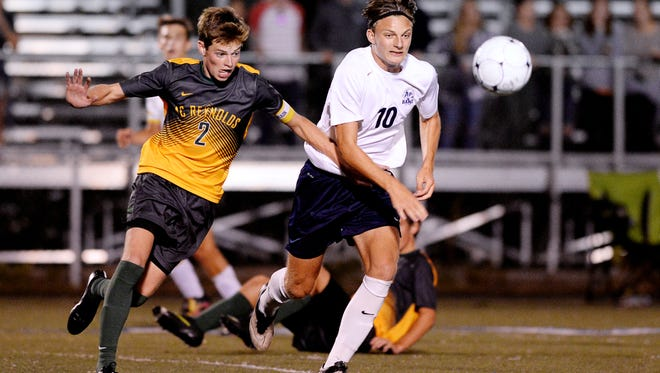 Brendan Mann (2) and Reynolds are home for Tuesday's 3-A Western Regional championship game.