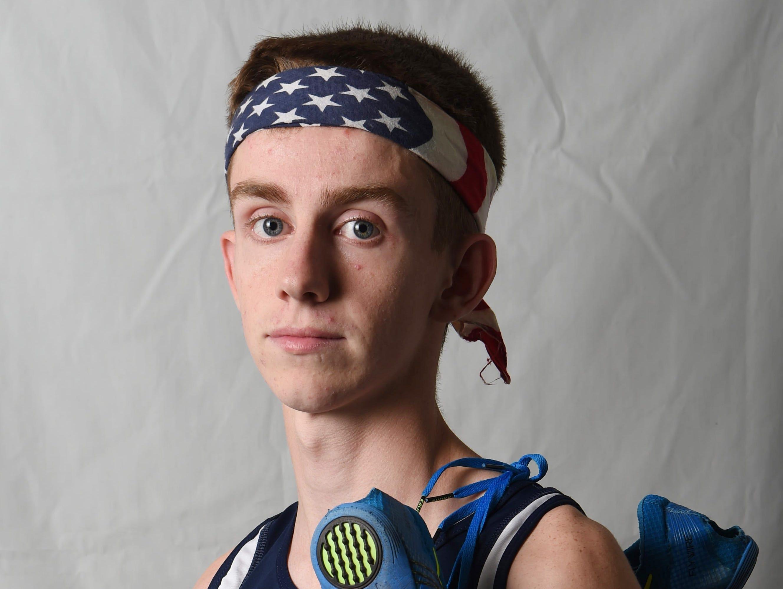 Sean Murray from John Jay High School is Boys Runner of the Year.
