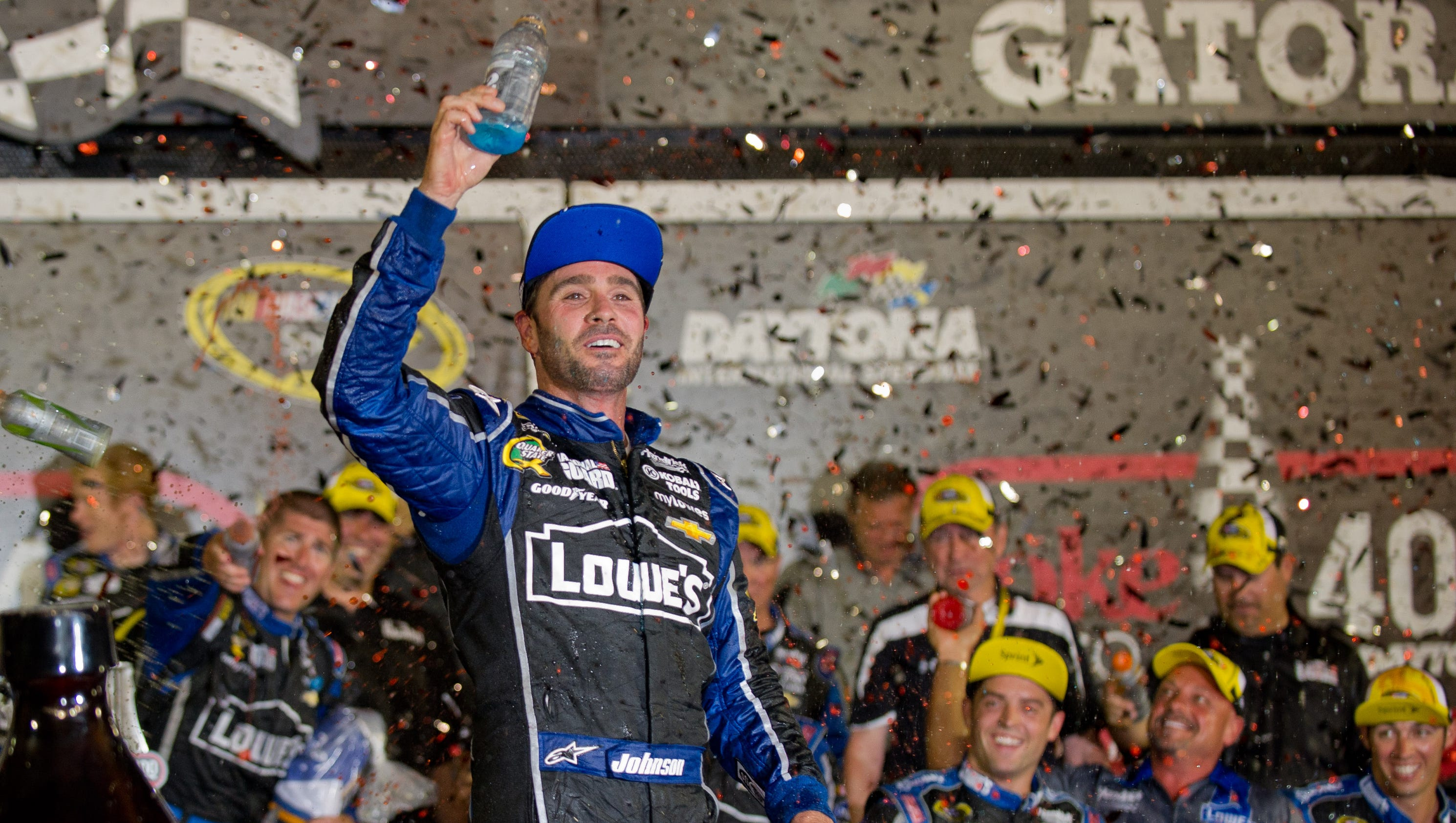 Top 10 Sprint Cup : Timeline key moments in jimmie johnson s nascar career