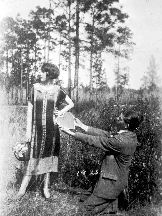 Valentine's Day art from 1925