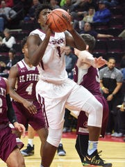 Marcellus Earlington of Don Bosco has a high game of