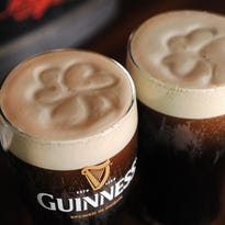 Molly Malone's Irish Pub in Covington hosts the Guinness Perfect Pint Challenge on Monday. Bartenders compete to pour the perfect pint. Each pint is auctioned for charity.