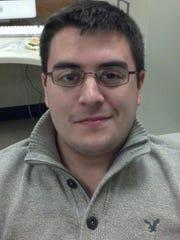 Kyle Reeser, Biomedical Engineering PhD candidate at Binghamton University.