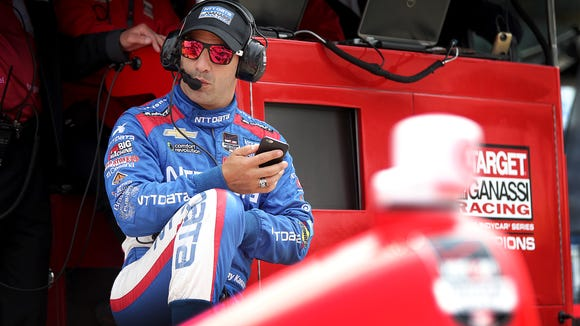 Tony Kanaan was among those in IndyCar unsure what to make of Saturday's pack racing