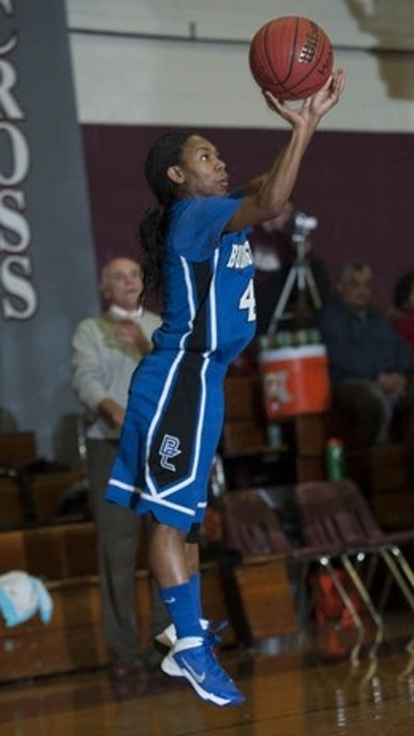 Burlington City guard Jada Atchison finished with 2,009 career points.