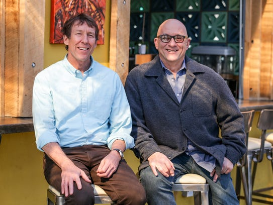Tom Main (left) and Peter George owns Tinker Street