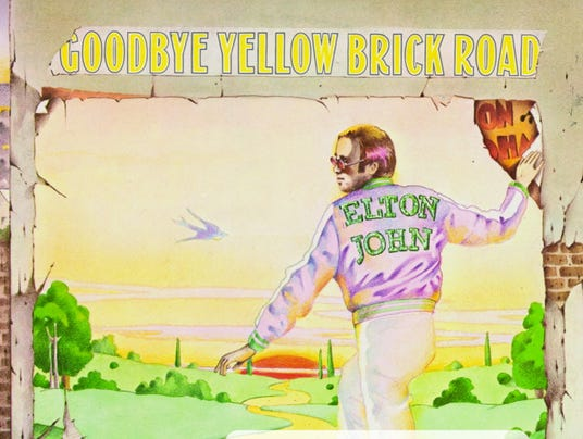 Elton John's 'Goodbye Yellow Brick Road'