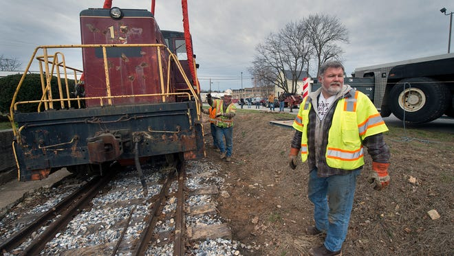 Mike Ruane, a director for the Stewartstown Railroad, purchased the engine.