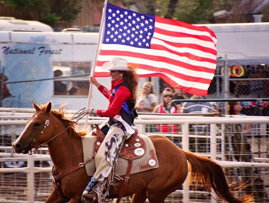 Rodeo Flag