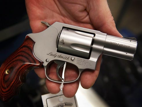 A 2010 ordinance banned sales of guns with the Chicago city limits and made it illegal for gun owners to go outside with firearms.