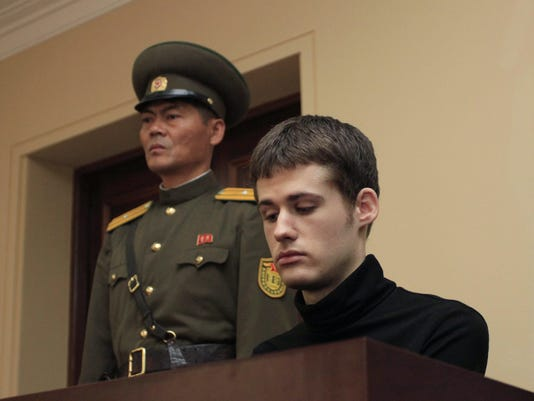 North Korea holds trial of American