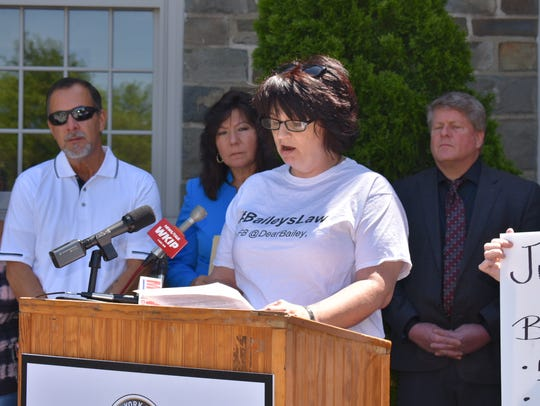 Gae Marie Cannon is pushing for Bailey's Law, which