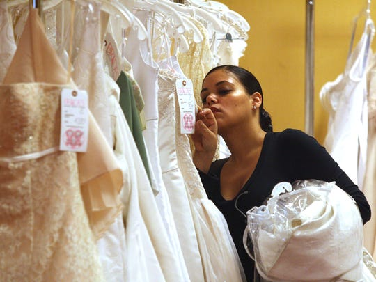 4645e79555bb Brides, beware! Is your wedding dress a fake?