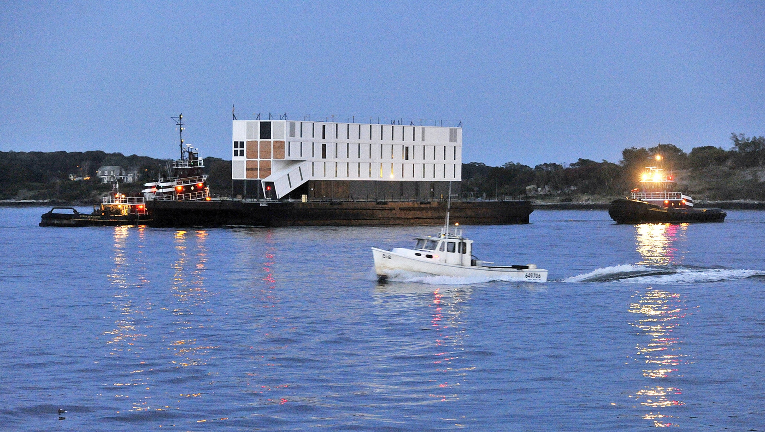 The mystery of google s floating barges