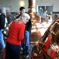Patty Gillespie tours the new Sierra Nevada Brewery in Mills River. The tours are so popular that there's a two-week wait for weekday visits and a month for weekends.