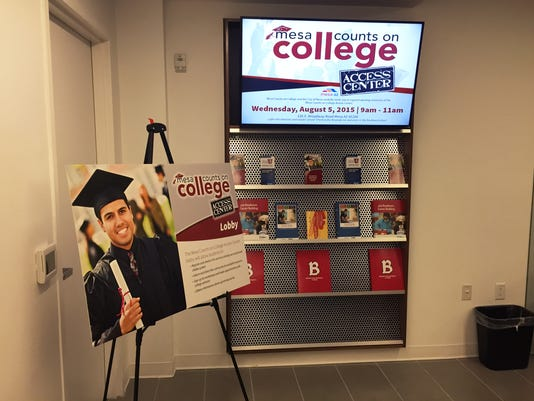 Mesa Counts on College Access Center