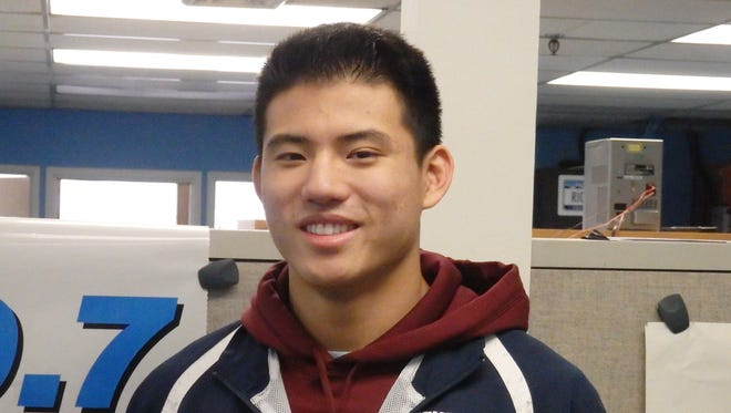 Edgemont wrestler Cliffton Wang is the Con Edison Athlete of the Week