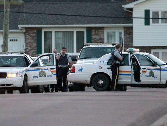 Manhunt in canada
