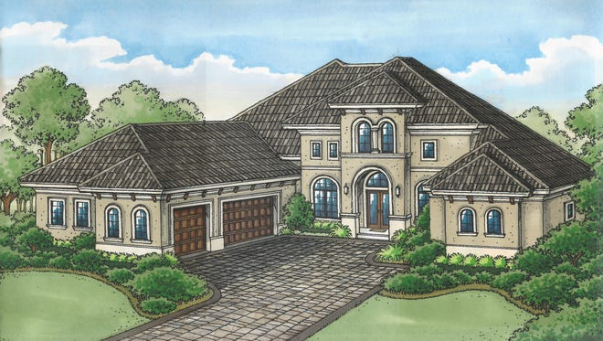 The Ponte Vedra Grande by Stock Signature Homes is priced at $1,500,045, without furnishings.