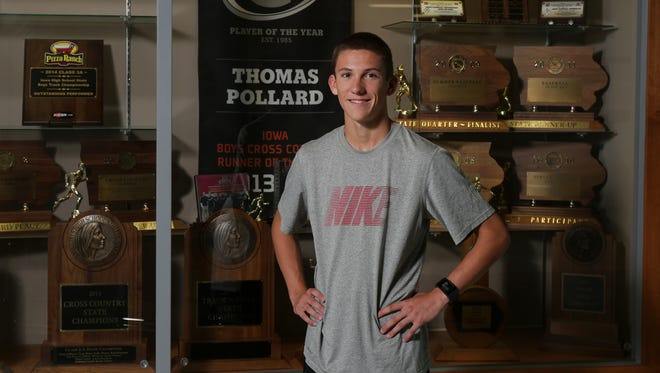 Gilbert senior cross country runner Thomas Pollard is back this year to help his Tiger teammates to a 3A title.