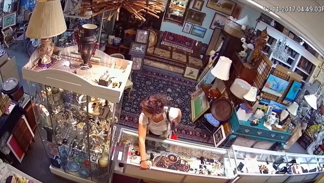 Stuart police say two people stole multiple items from an estate jewelry store in December.