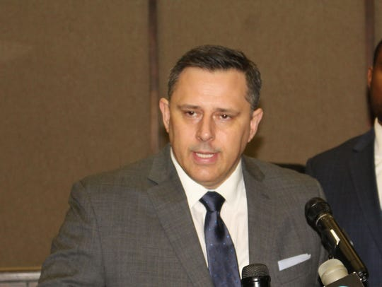 Selma Police Chief Spencer Collier served as the head of the Alabama Law Enforcement Agency from 2013 to 2016.