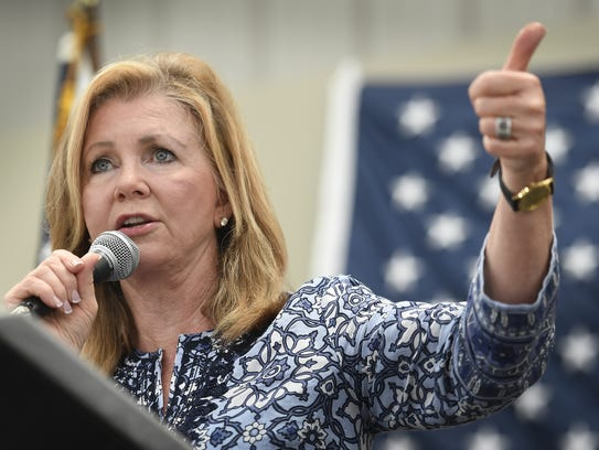Rep. Marsha Blackburn is considered the front-runner in the GOP primary to succeed Sen. Bob Corker.